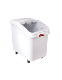 Rubbermaid FG360388WHT ProSave 490 Cup White Slant Top Mobile