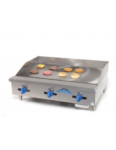 Castle FHP36-36 Manual Control Countertop Gas Griddle 36""