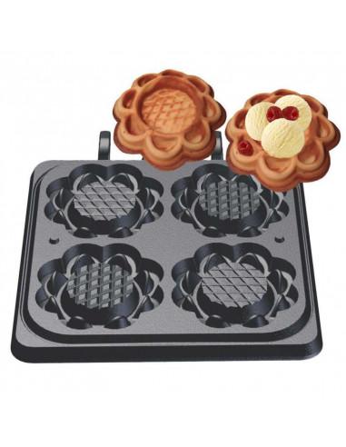(32-40736) لوح إعداد كعك الوافل