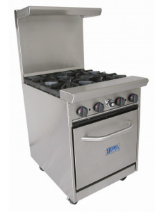 Bakers Pride BPXPR-4 Four Burners Range With Oven