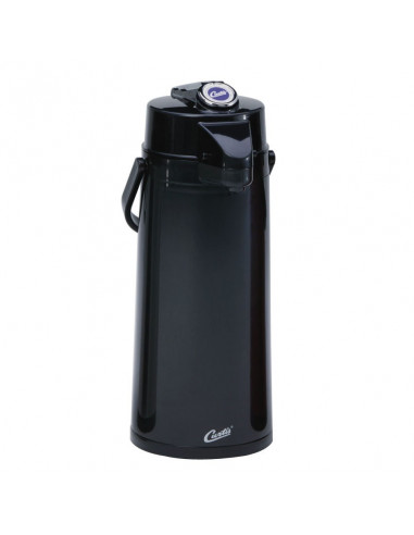 Curtis TLXA2203G000 Black Lever Airpot with Glass Liner