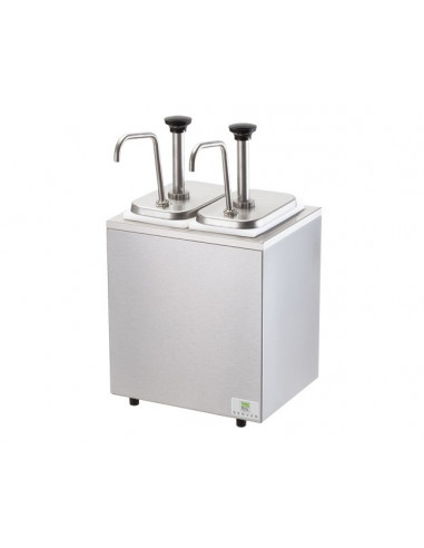 Server 2 Jars Station combo with Pumps
