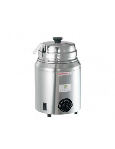 Server Topping Warmer with ladle