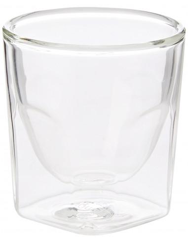 كأس برويستا المربع وبجدار مزدوج بسعة ٦٠ مل