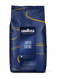 Lavazza Super Crema Whole Bean Coffee 1kg