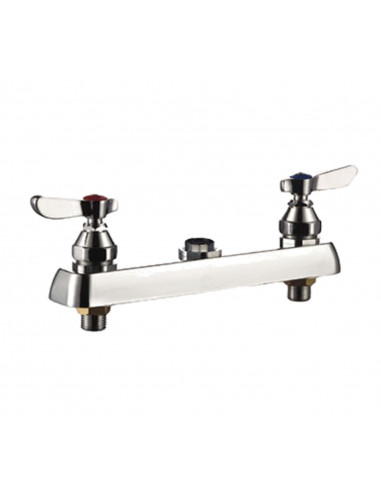 General GXR-7800WB General Hardware 8 Centre Double Work Board Board Faucet
