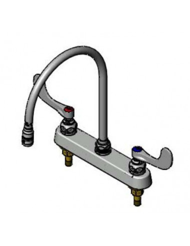 T&S Workboard & Bar Sink Faucets B-1194-QT-A22W4