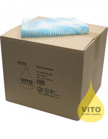 أوراق السليلوز للترشيح، ١٠٠ ورقة في الكرتون (PE100 V30) من فيتو