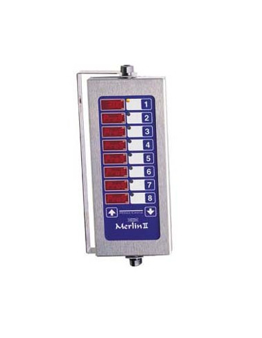 Prince Castle 741-T88CE Timer, Electric, 8-channel, multi-display.