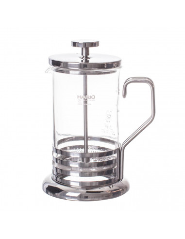Hario Coffee Press with Olive Wood Top 300ml