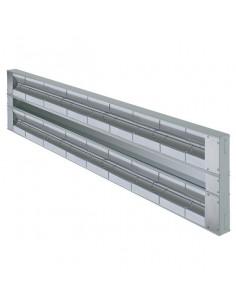 Hatco GRAH-48D Glo-Ray Aluminum Dual High Wattage Infrared Warmer