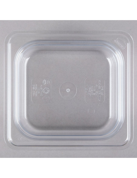 "Cambro 62CW135 Camwear 1/6 Size Clear Food Pan - 2 1/2"" Deep"
