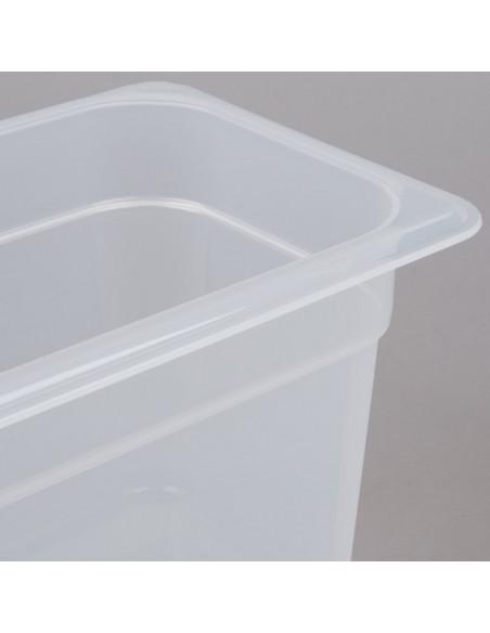 """وعاء طعام شفاف بمقاس 1\4 وارتفاع 6"""" من كامبرو"""
