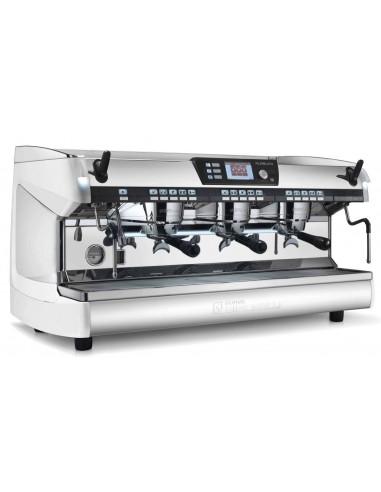 آلة الإسبريسو أوريليا ٢ الرقمية بثلاث فئات، وبلون أبيض