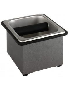 Basic Stainless Steel Knock Box Set