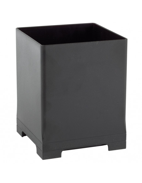 Snap Bin, 5.5in, Black