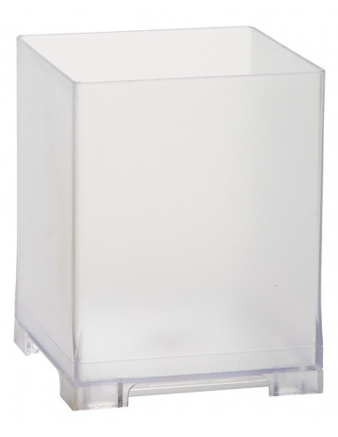 Snap Bin, 5.5in, Frosted