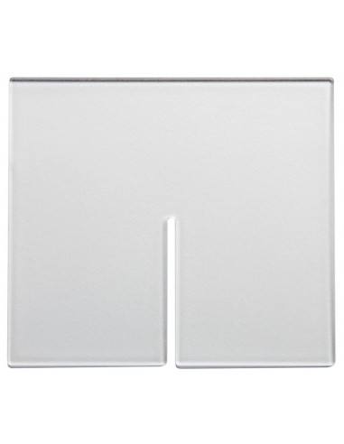 Snap Bin Diagonal Divider, 5in, Frosted