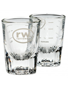 2 Ounce RW Logo Shot Glass