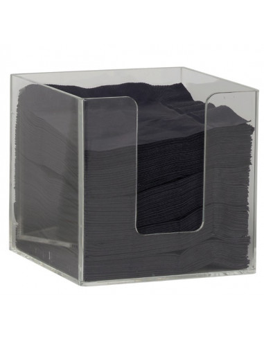 Napkin Holder, Acrylic, 5in