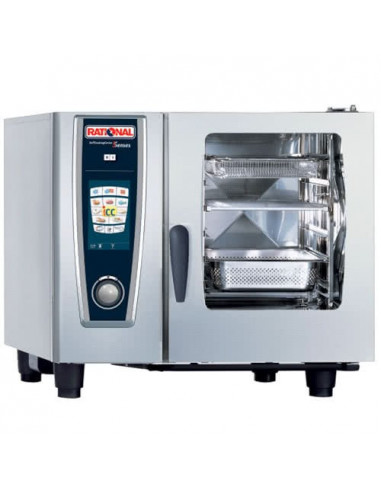 Rational SelfCookingCenter 5 Senses Model 61 GN 1/1 A618100.01 6 PCS