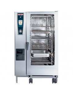 Rational Self Cooking Center 5 Senses Model 202  A228200.30B Combi Oven with Twenty Full Size Sheet Pan Capacity - Gas