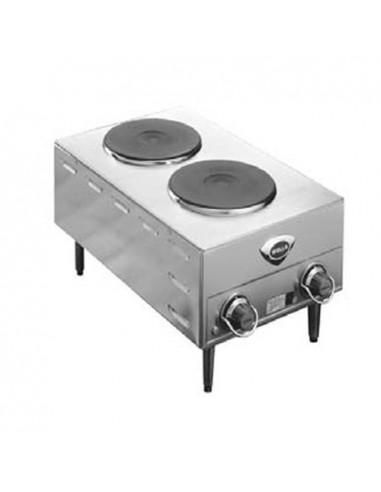 Wells H70 Electric Countertop Two Burner Hot Plate