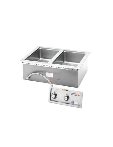 Wells MOD200TD 2 Pan Thermostatically Controlled Hot Food Well with Drain