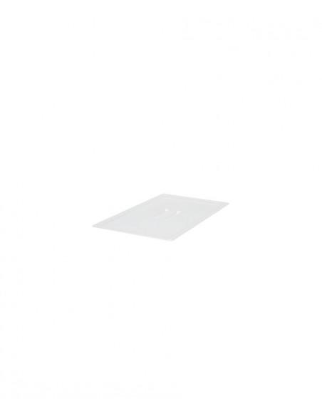 CAMBRO CAMWEAR FULL SIZE 1/1 TRANSLUCENT HANDLED LID