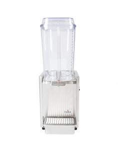Crathco D15-3 Single 5 Gallon Bowl Stainless Steel Refrigerated Beverage Dispenser