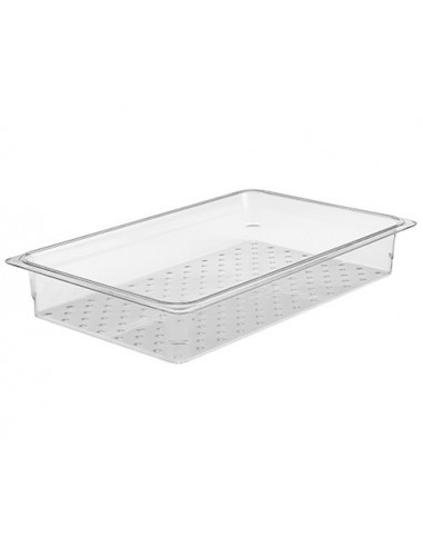 CAMBRO CAMWEAR CLEAR FULL SIZE 1/1 COLANDER PAN