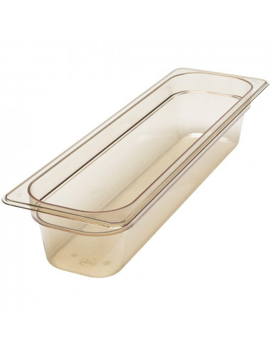 Cambro 24LPHP150 Camwear 1/2 Size High Heat Long Food Pan