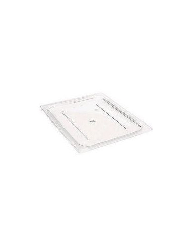 CAMBRO 40CWC135 1/4 SIZE Clear FLAT LID