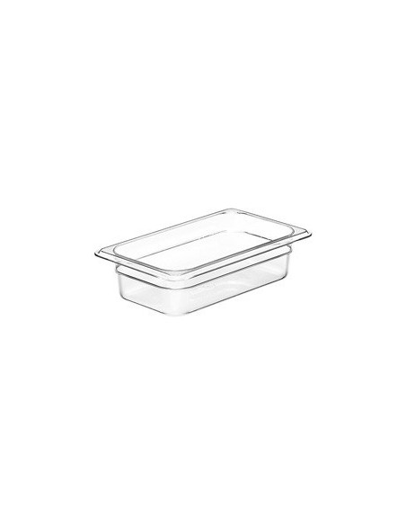 CAMBRO 42CW135 SIZE 1/4 CLEAR FOOD PAN