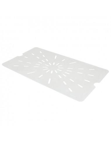 Cambro Full Size 1/1 Translucent Drain Tray