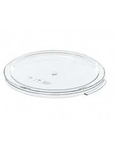 Cambro RFSCWC12135 12, 18, 22 Qt. Clear Round Lid for Clear Camwear Containers