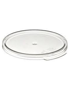 Cambro RFSCWC2135 2, 4 Qt. Clear Round Lid for Clear Camwear Containers