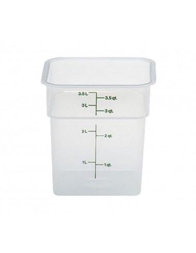 Cambro 4 Qt. Square Food Storage Container