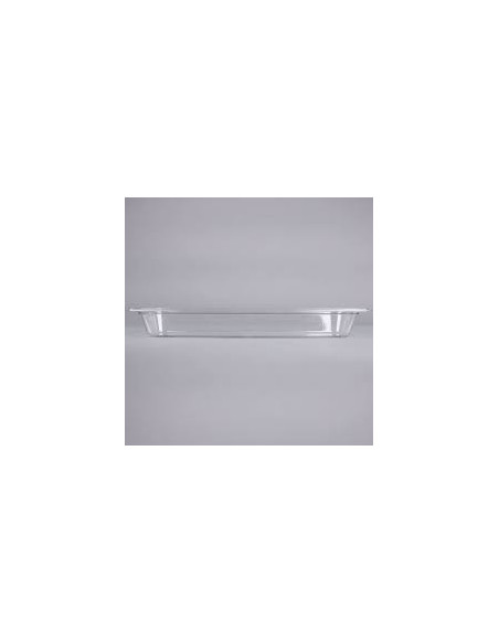 Cambro 22LPCW135 Camwear 1/2 Size Long Clear Food Pan