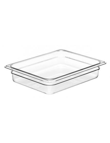 Cambro 22CW135 Camwear 1/2 Size Clear Food Pan
