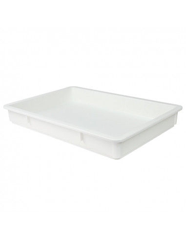 Cambro DB18263P148  White Polypropylene Pizza Dough Proofing Box