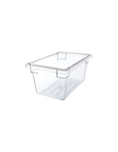"Cambro 12189CW135 Camwear 12"" x 18"" x 9"" Clear Food Storage Box"