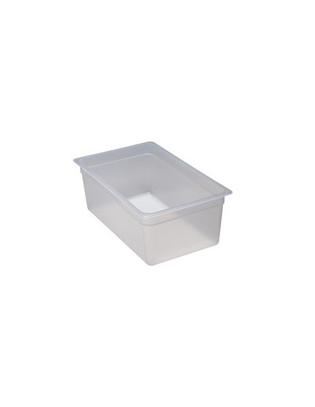 "Cambro 24PP190 1/2 Size Translucent Food Pan - 4"" Deep"