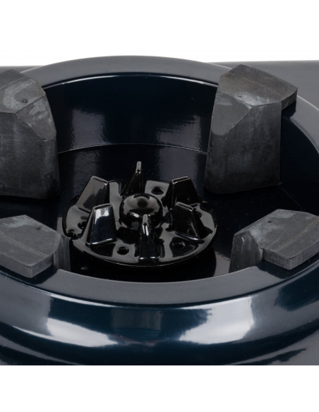 (990-220V) خلاط  هاميلتون بيتش الفولاذي، بسرعتين