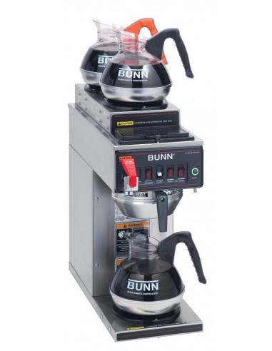 (CWTFA)  محضّرة القهوة الأوتوماتيكية بسخان واحد تحتي و سخانيين علويين