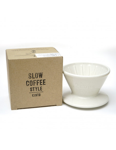 KINTO SLOW COFFEE STYLE BREWER WHITE