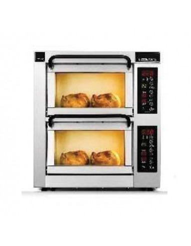 PIZZAMASTER PM PM 352ED MULTI PURPOSE COUNTER TOP Duble Deck Ovens OVENS