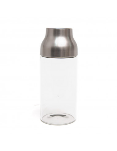 KINTO CAPSULE WATER CARAFE 0.7L STAINLESS STEEL