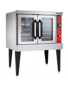 Vulcan VC4ED-480V Single Deck Electric Convection Oven