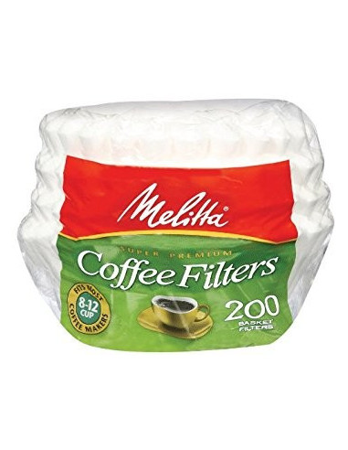 Melitta Cone Coffee Filters size 4 -200 pack